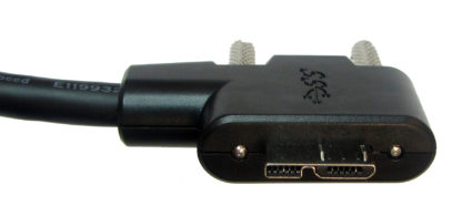 USB 3.0 Right Angle Active Repeater Cable Connector